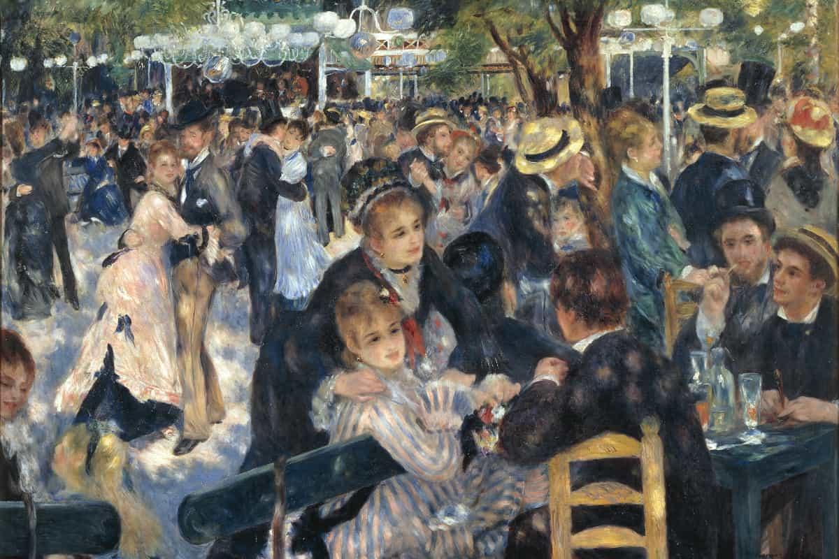 Bal du moulin de la Galette de Pierre-Auguste Renoir